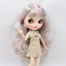 Factory Neo Blythe Doll Dreamy Mixed Color Hair Jointed Body 30cm