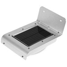 16 LED Luz Solar Al Aire Libre de Movimiento Infrarrojos Del Sensor de Control de Luz de Ahorro de Energía Lámpara de Pared para la Decoración Del Jardín de Pared de Luz