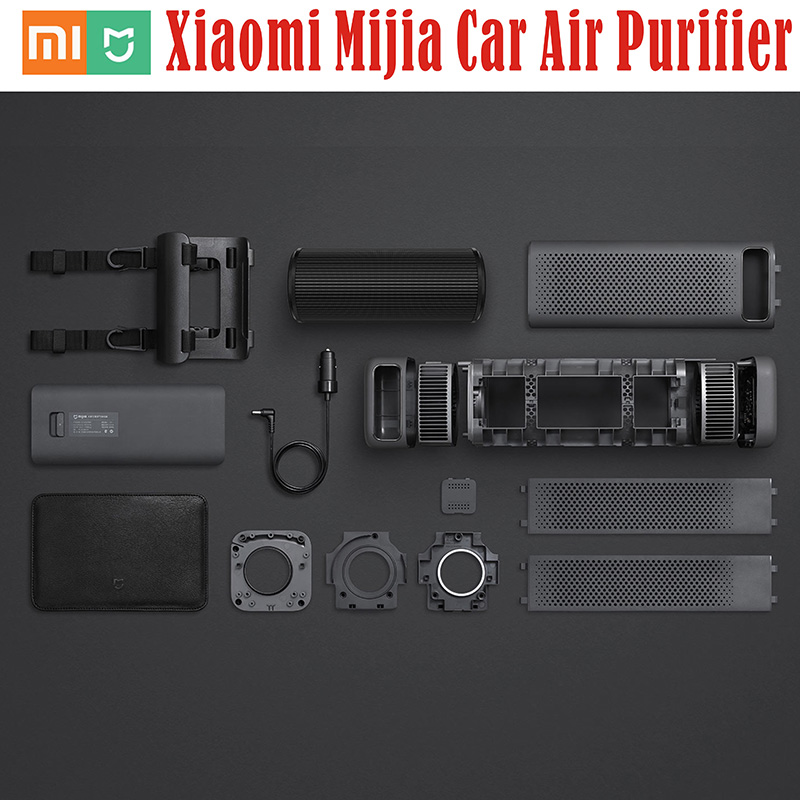 New Original Xiaomi Mijia Mini Car Air Cleaner Air Purifier CADR 60m3/h Purifying PM 2.5 Detector Smartphone APP Remote Control original xiaomi smart mi air purifier air cleaner