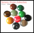 nature stone cabochon fashion jewelry diy beads charms beads accessories size 16mm 18mm 20mm coin shape beads