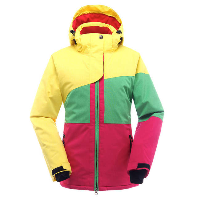 2c4bda6b87 Snowboard Jacket Women Ski Jacket Waterproof Super Warm Snow Coats For  Female -30 Degree Breathable