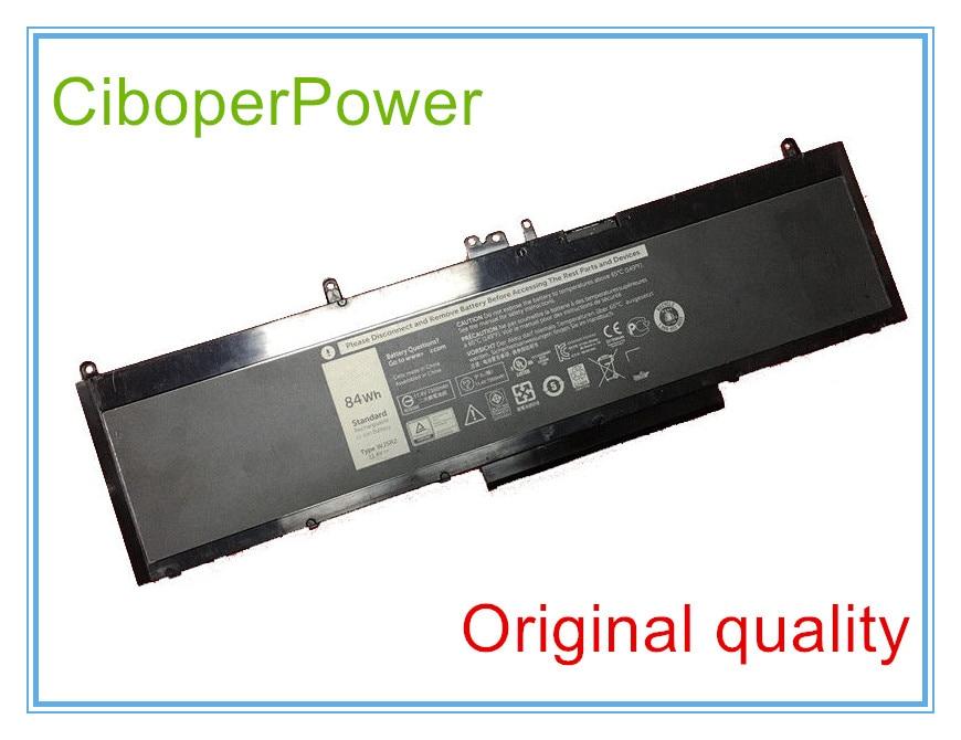 Original laptop battery 11.4V 84Wh WJ5R2 battery 4F5YV for 3510 Series