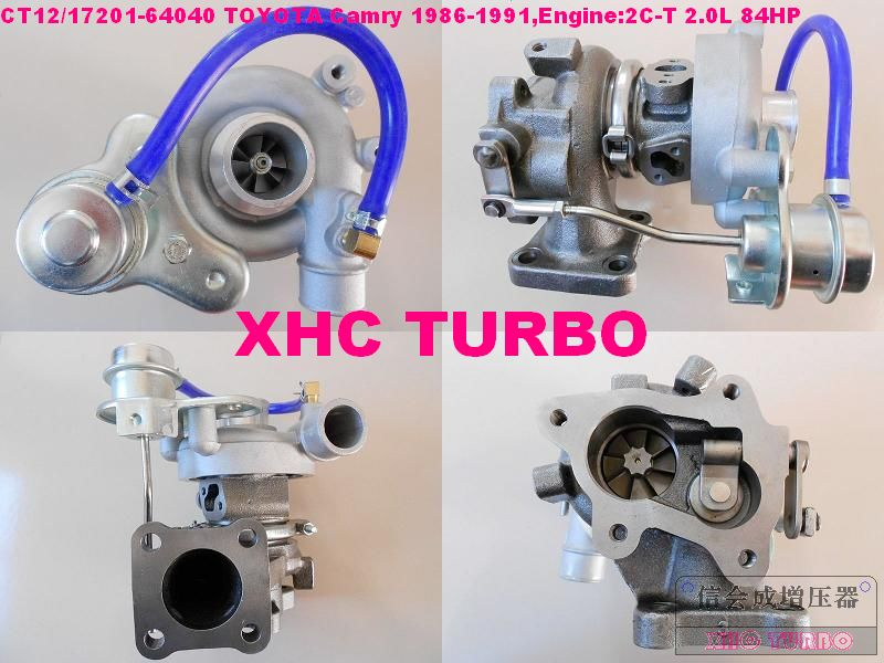 NEW CT12 17201-64020 64040 Turbo Turbocharger for TOYOTA Camry,2CT 2C T 2.0L 84HP 1985-1991