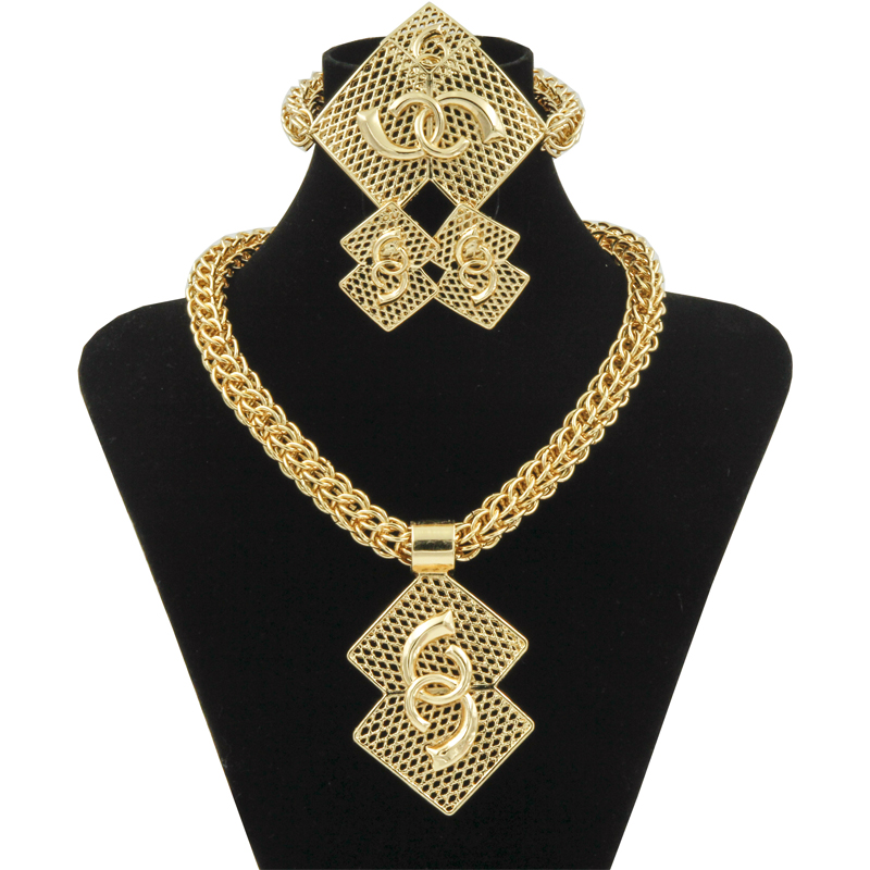 fea7b6015ab06 top 8 most popular gold nigerian bead necklace sets list and get ...