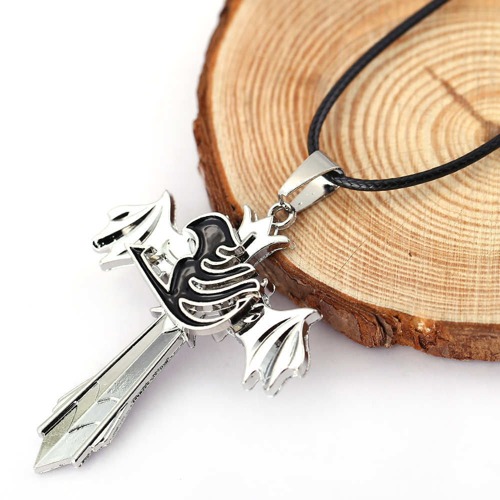 Fairy Tail Cosplay Gifts Alloy Key of Canis Minor Necklace Pendant