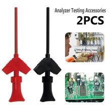 P5003 1 пара мини-анализатор тест ing Probe Grabber SMD IC Тест Крюк Зажим датчик перемычки Логический анализатор тест ing аксессуары J3