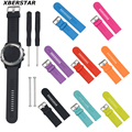 Replacement Silicone Watchband for Garmin D2/Fenix/Fenix2/Fenix3/Fenix3 HR/Quatix/Quatix3/ Tactix Watch Strap With Pins & Tools