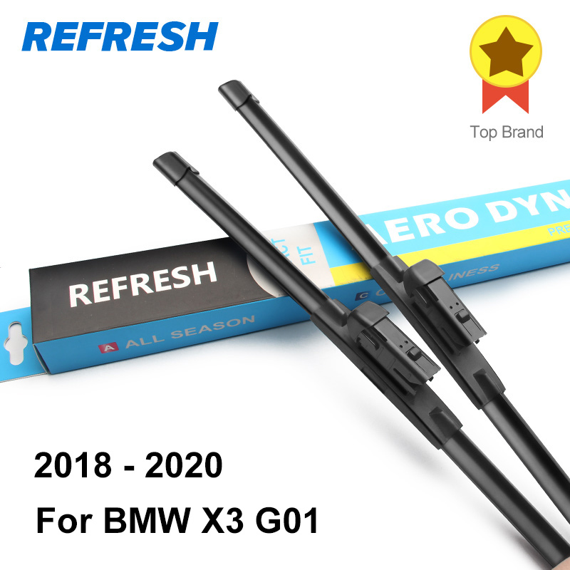 REFRESH Щетки стеклоочистителя для BMW X3 E83 / F25 Точная установка 2003 2004 2005 2006 2007 2008 2009 2010 2011 2012 2013 - Цвет: 2018 - 2020 ( G01 )