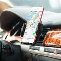 Mpow Xe Phổ đỡ Điện Thoại Air Vent Núi Đứng Di Động GPS Điện Thoại Thông Minh Car Chủ Cho iPhone X 8 7 6 6 s/Cộng Với 4-6 inch điện thoại