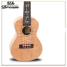 Acoustic Guitar 23 Inch Small 4 Strings Full Okoume Tiger Classical Ukulele Guitar 18 Frets Musical Stringed Instruments UC-B7D small guitars 23 inch 4 strings ukulele full flame maple classical guitar acoustic guitar profession musical instruments uc a6