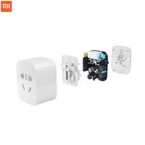 Image 3 - 100% 新シャオ mi mi 嘉 WiFi スマートソケットプラグ ZigBee バージョンワイヤレスリモコン mi ホームアプリで動作用セット