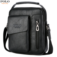 b9874c8211 VICUNA POLO Luxury Men Messenger Bag Large Capacity Crossbody Bags For Men  Waterproof Handbag External Pocket