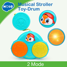 2018 New Functional Baby Birthday Gift Toddler Fun Hand Pat Drum Music Instrument Learing Eletrionic Toy
