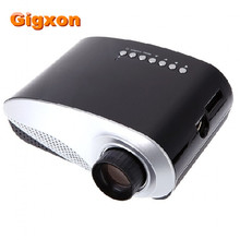 Gigxon-G600 Mini Proyector HD HDMI Compatible LCD Proyector Portátil