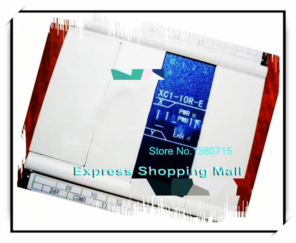 New Original 5point NPN input 5point relay output XC1-10R-C PLC DC24V 1COM стоимость