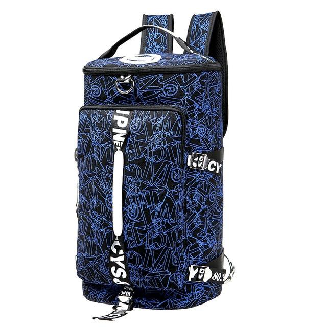 Mulitifunctional Men Travel Bags Fashion Backpacks Crossbody Messenger Out Door Handbags Women Shoulder Bag Uni Canvas