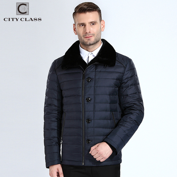 City Class New Winter Bio Down Men Jacket Diagonal Zipper Coats Top Model 2018 Business Casual Overcoat 8xl Brand Clothing 16828 Косуха