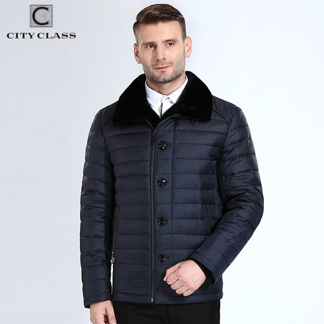 eda23b64080df Сity Class куртка зимняя мужская новые зимние мужские пуховик наполнитель  био Пух куртка косуха мужская Диагональ