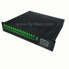 16 Way CATV 1550nm Optical Amplifier 23dBm EDFA with WDM SC/APC Fiber Port Dual Power Supply 220V or 48V(China)