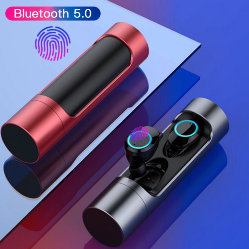 <font><b>TWS</b></font> <font><b>Bluetooth</b></font> 5.0 <font><b>Earphone</b></font> <font><b>X8</b></font> Touch Control Mini Twins Wireless <font><b>Earphones</b></font> Stereo Headset with Microphone IPX7 Waterproof Earbuds image