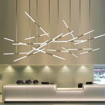 Livewin Led Luz Colgante Moderno Hangqing 2-30 Lámparas Combinadas Para Comedor Accesorio Hotel Vestíbulo Frente Escritorio Suspensor