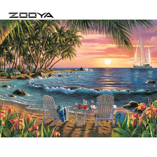 ZOOYA 5D DIY Diamond Painting Landscape Cartoon Embroidery Full Pack Kit Mosaic Sale Decor Rhinestone RF1839