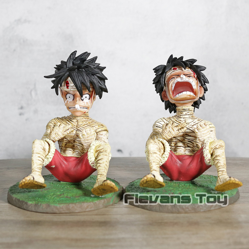 Action & Toy Figures One Piece Crying Monkey D Luffy Figure Action Pvc Collectible Model Toy A Wide Selection Of Colours And Designs