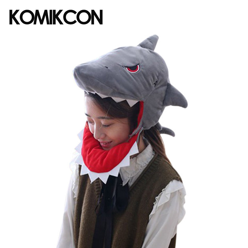 Animal Shark Cosplay Hats Costumes Accessories Fancy Anime Creative Caps For Adults Children Halloween Christmas Party Gifts
