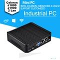 Low Price powerful mini pc Celeron J1800 Dual Core J1900 Quad Core 2 lan 2.41Ghz Small computer mini pc barebone with Hdmi+Vga
