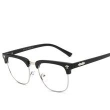 Marque Johnny Depp Lunettes Hommes Femmes Vintage Lunettes Optiques Cadre  de Haute Qualité Oculos de Grau Vintage Myopie Lunette. 4916d75f97b0