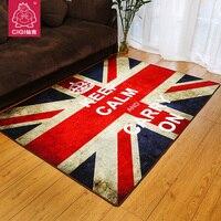 ยุโรปพรมร้านสำหรับอังกฤษUnion j ackธงอังกฤษแฟชั่นย้อนยุคห้องนั่งเล่นห้องนอนข้าง