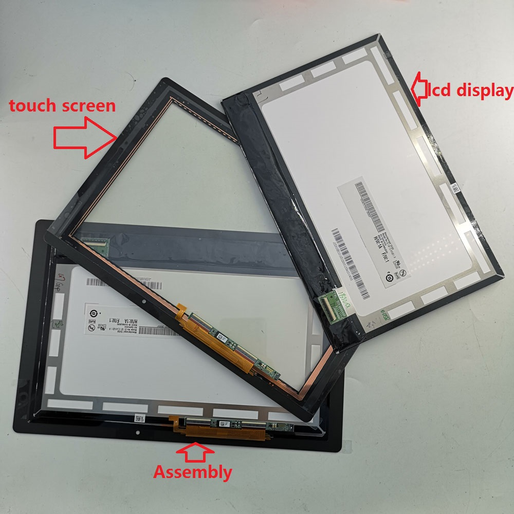 10.1 Inch LCD Display Touch Screen Matrix Digitizer For Acer Aspire Switch 10E SW3-013-12AE With Touch Drive Control Small Board