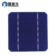 72 pcs 2.8w Solar Cell Monocrystalline Silicon PV Photovoltaic Solar Panel 125*125mm Mono for DIY Kit 19% Efficient Enough-Power mbr cell power neck
