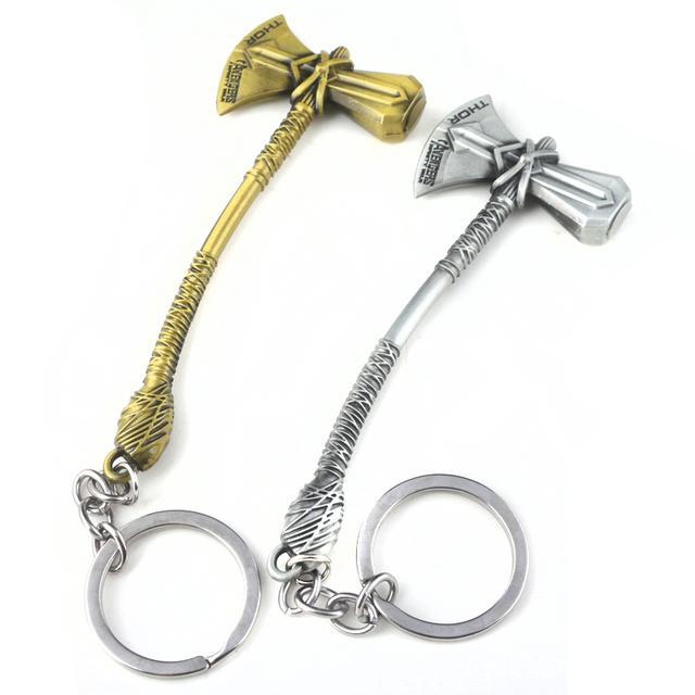 Axe Hammer Stormbreaker Key Chain
