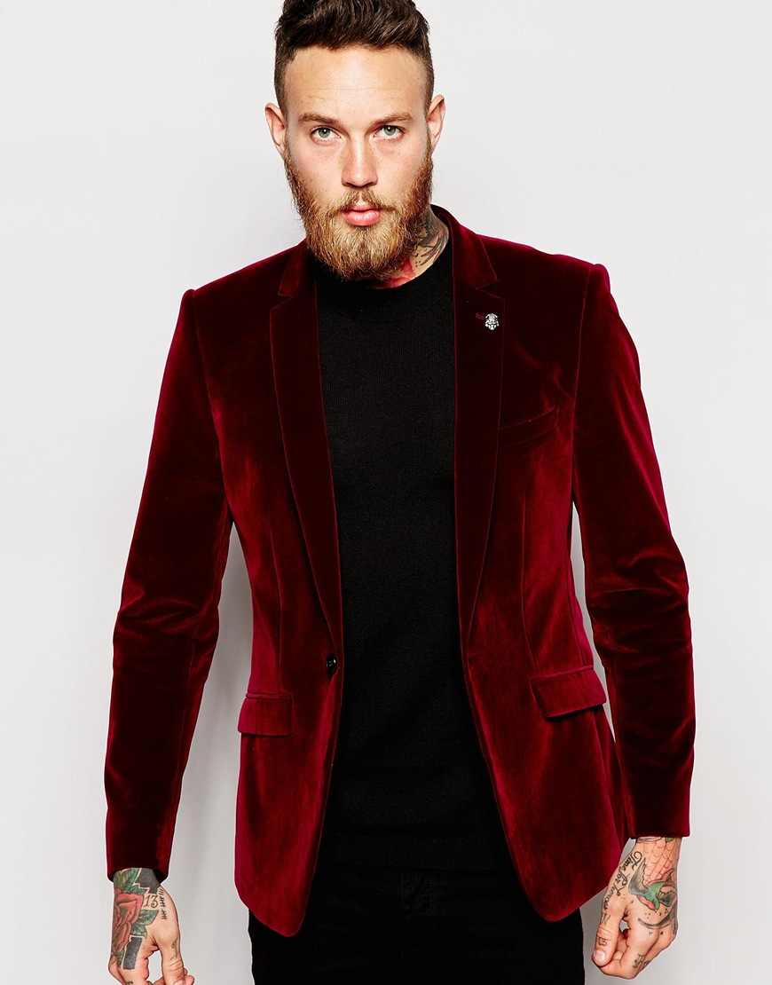 Popular Velvet Tuxedo Jacket-Buy Cheap Velvet Tuxedo Jacket lots ...