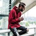 2016 Men's Zipper Design Hip Hop Hoodies Anti Social Social Club Style Streetwear Sweatshirts Men Winter Sudaderas Hombre