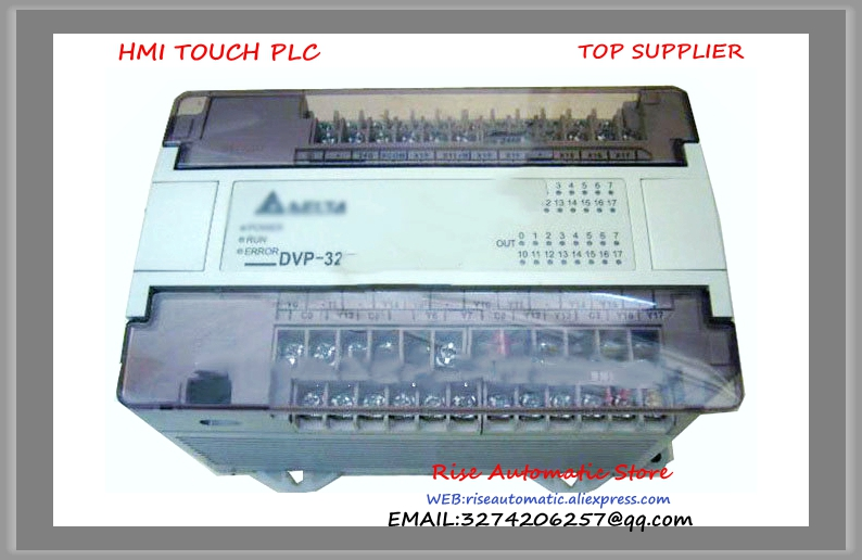 DVP32EC00R2 New Original Delta PLC 16DI 16DO relay output Extension Module new original dvp16xn11r delta plc 16do relay output digital module