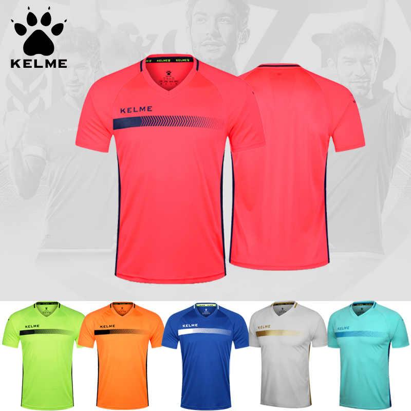 KELME authentic football clothing short sleeve custom men s competition  training suit jersey K16Z2003 251cb762e