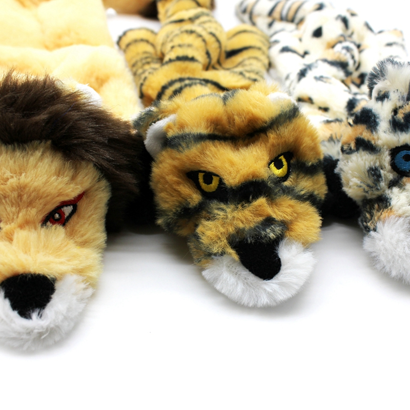 Cute Plush Toys Squeak For Dogs Chew Squeaker Pet Squeaky Animal Shaped Toy Squirrel  Dog Cat Toy Pet Supplies 21