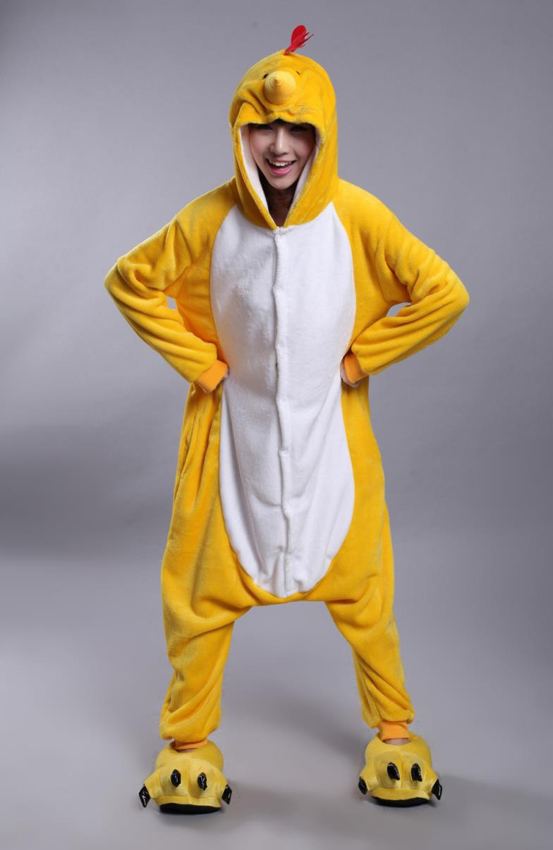 6cc80f8449 Hot Cool Zodiac Adults Chicken Chook Onesie Anime Cosplay Costumes ...