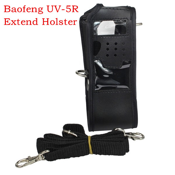 NEW Baofeng Uv-5r 3800mah Extended Leather Soft Case Holster For Protection Two Way Radio FM TYT TH-UVF9 TH-F8 TH-UVF9D Walkie