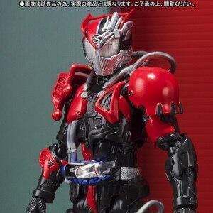 """Image 2 - Orijinal BANDAI Tamashii milletler S.H.Figuarts (SHF) özel aksiyon figürü süper ölü ısı sürücü """"Kamen Rider sürücü"""""""