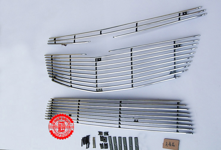 High quality stainless steel Front Grille Around Trim Racing Grills Trim For 2009-2012 Cruze