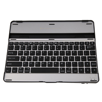 Ultra Thin Universal Aluminum Alloy Wireless Bluetooth Keyboard For IPad 2 3 4