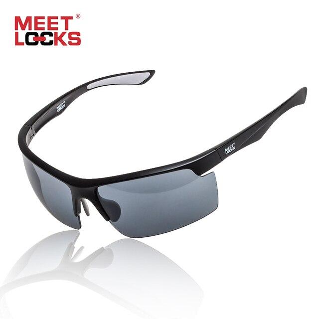 9981b525bd3e2 MEETLOCKS óculos de Sol Dos Esportes Ciclismo Óculos de Armação Dos Óculos  de Proteção UV400 Para