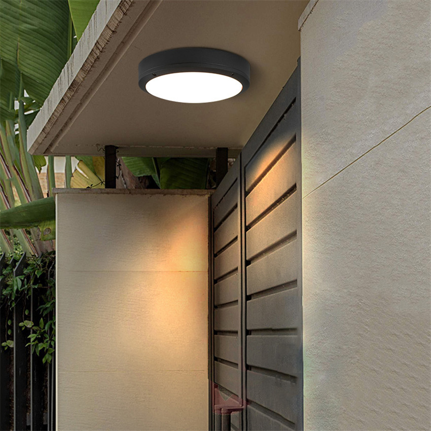 18W LED Ceiling Lights Round Modern Simple Atmosphere Lamp Living Room Bedroom balcony Patio Porch Light Fixture BL23 modern led ceiling lamp aisle simple living room porch balcony study room long lamp