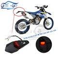 Nova marca Da Motocicleta Sujeira Bicicleta Polisport Pára Choque Traseiro Lanterna Traseira LEVOU Enduro Luz Da Cauda parada CRF KTM EXC WRF 250 400 426 450