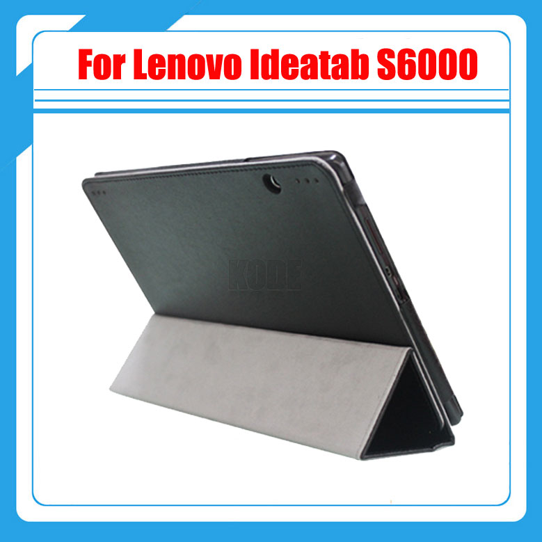 PU Leather Case Stand Protective Cover Skin For 10.1 Lenovo Ideatab S6000 Tablet With Stylus Drop Shipping free shipping new 10 1 original stand magnetic leather case cover for lenovo ibm thinkpad 10 tablet pc with sleep function