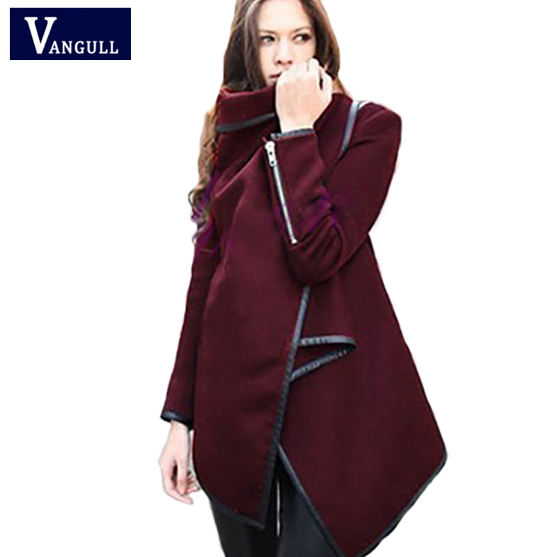 c50e16546aa0 Fashion Casual Warm Women s Clothing 2018 Autumn   Winter Solid Slim Female  Outwear Turn-down