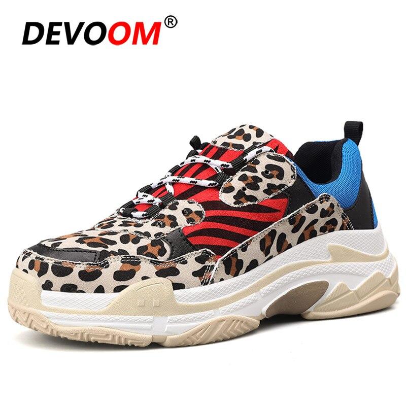 New Fashion Leopard Men Sneaker Shoes Comfort Men Summer Mens Trainers 2019 Men Casual Shoes Yellow Zapatillas Deportivas Hombre
